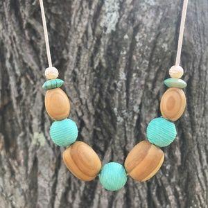 Jewelry - Boho Necklace, Turquoise Jewelry, Bead Necklace